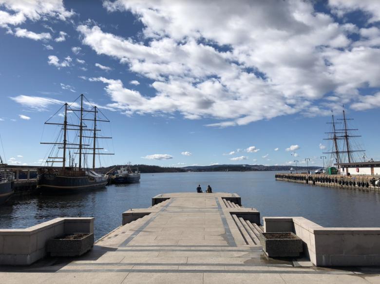 cruiseferry van Oslo naar Kopenhagen