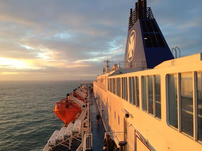 Reisbloggers aan boord van KING Seaways