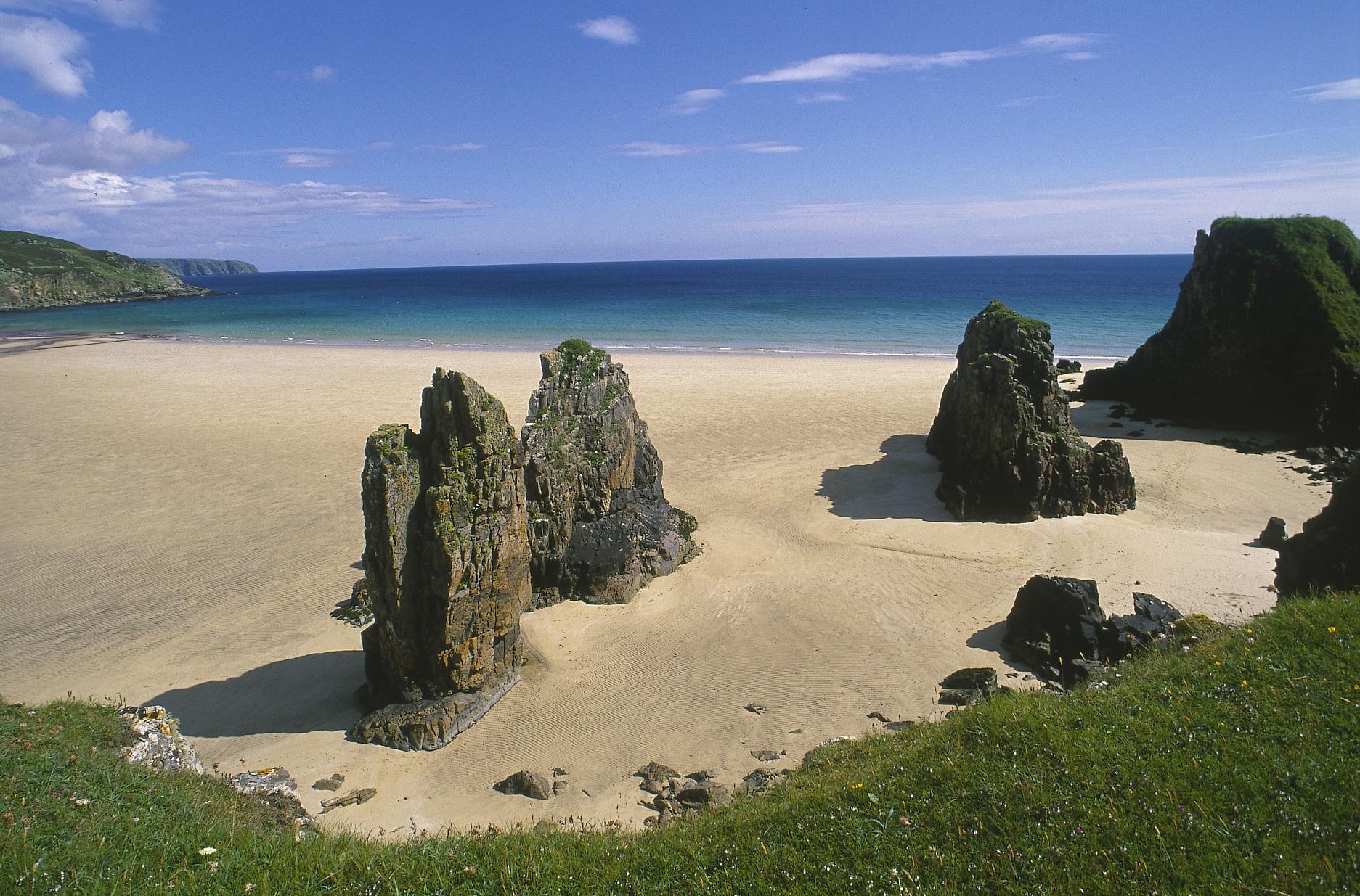 De betoverende stranden van Lewis & Harris