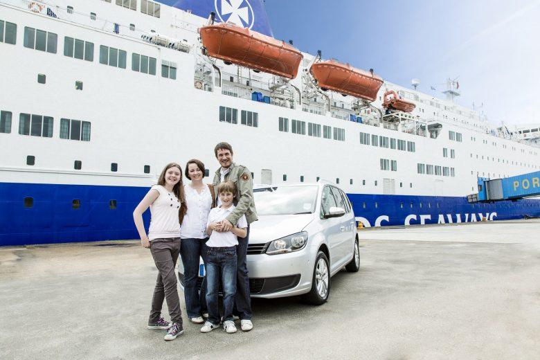 Met de auto op de ferry naar Engeland