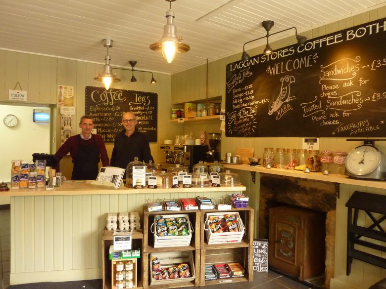 Mac Kechnie's coffee bothy and gallery