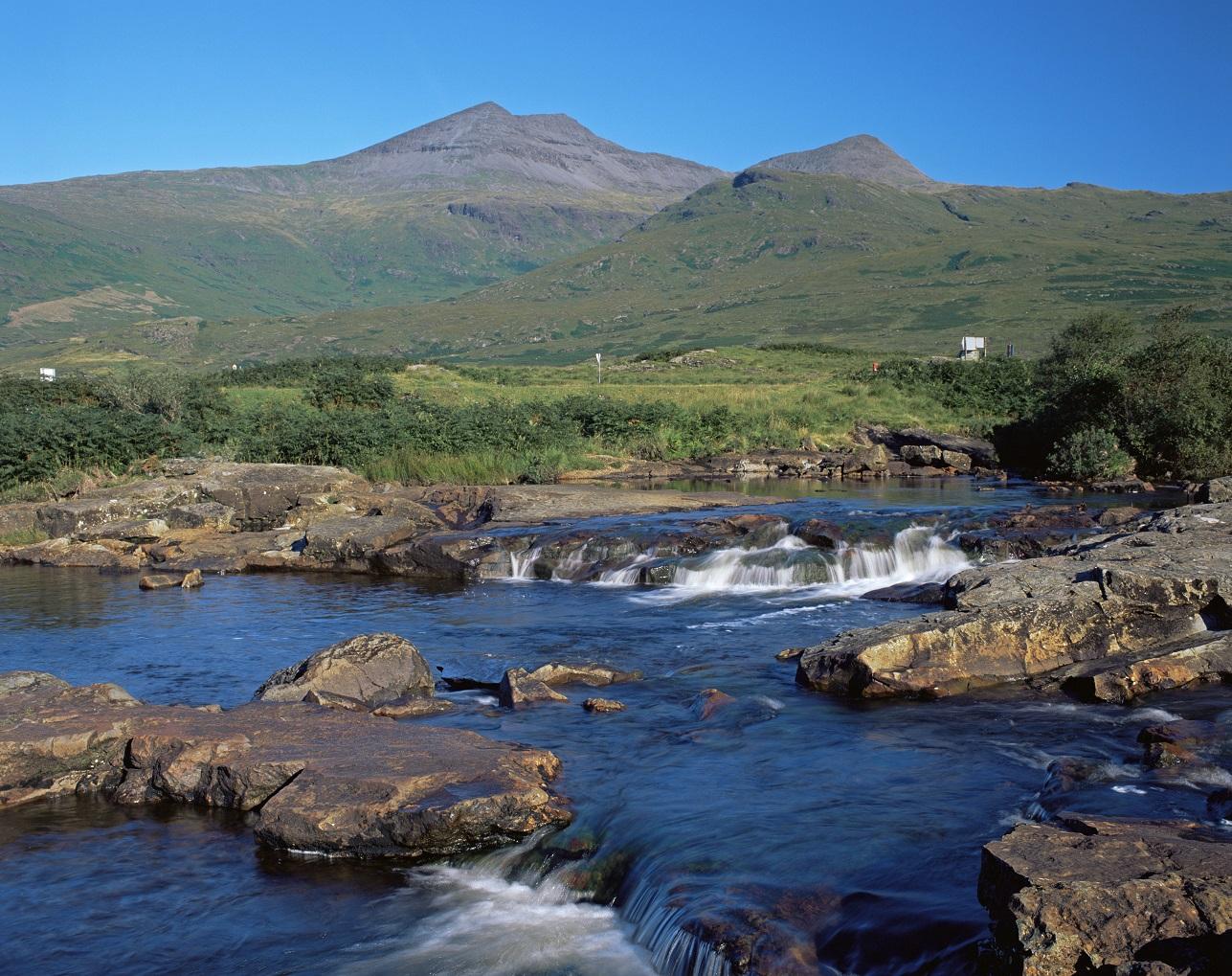 Het bijzondere landschap op het eiland Mull