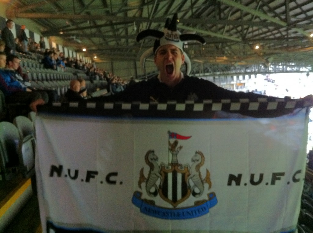 Proud to be a Geordie!