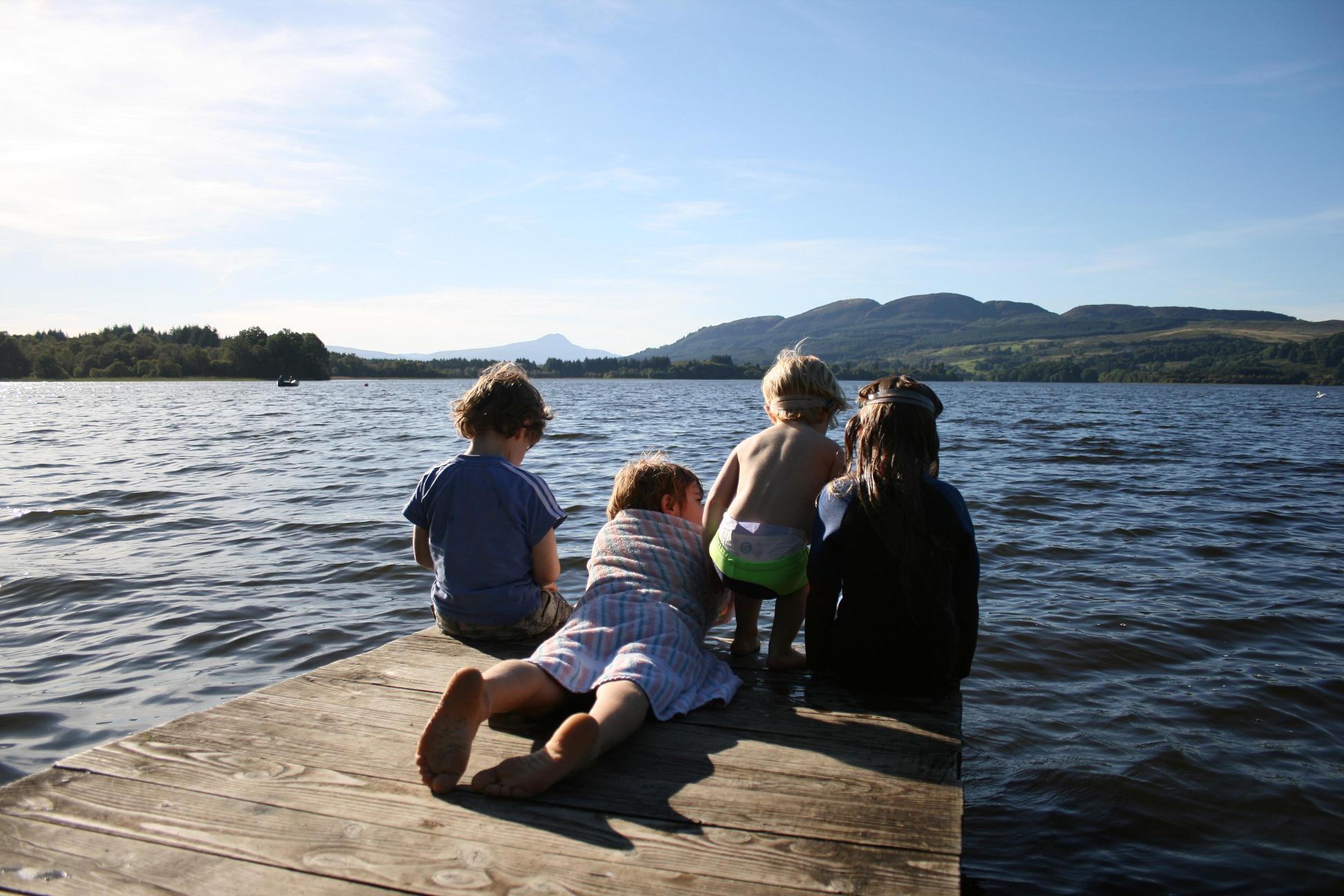 Relaxen bij Lochend Chalets