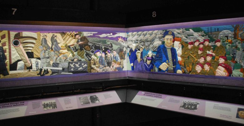 D-Day Story Museum Overlord Embroidery