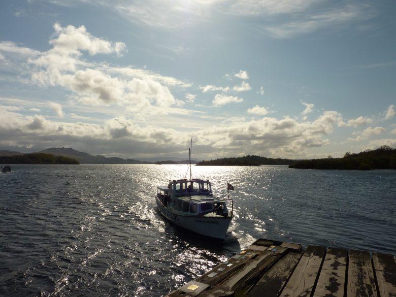 Aan de oevers van Loch Lomond