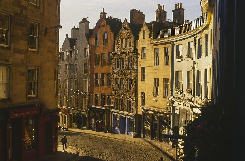 Citytrip Edinburgh rondom Kerst