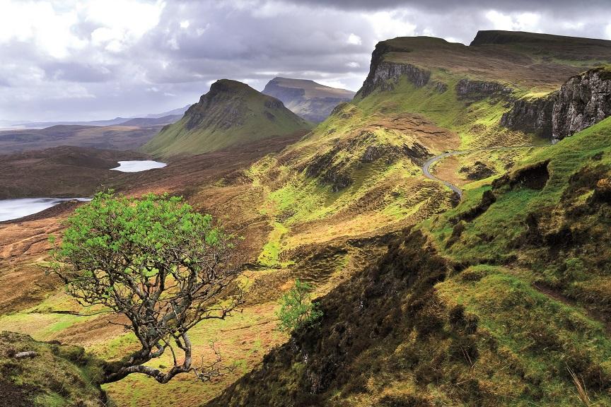 The Quiraing - Skye - De mooiste van de Schotse eilanden