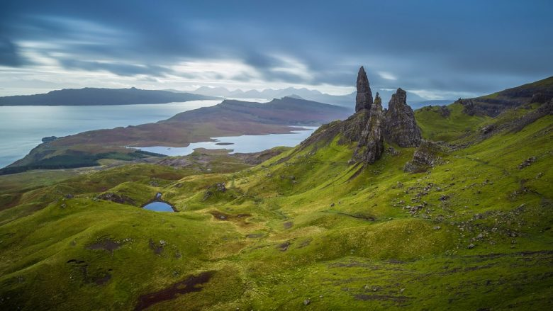 Voorjaar in Schotland