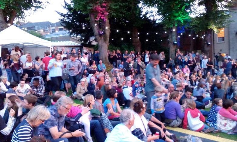 Gezelligheid op het Fringe Festival