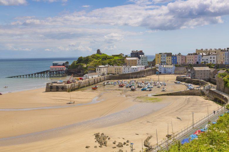 Tenby - de mooiste badplaats aan de kust van Wales