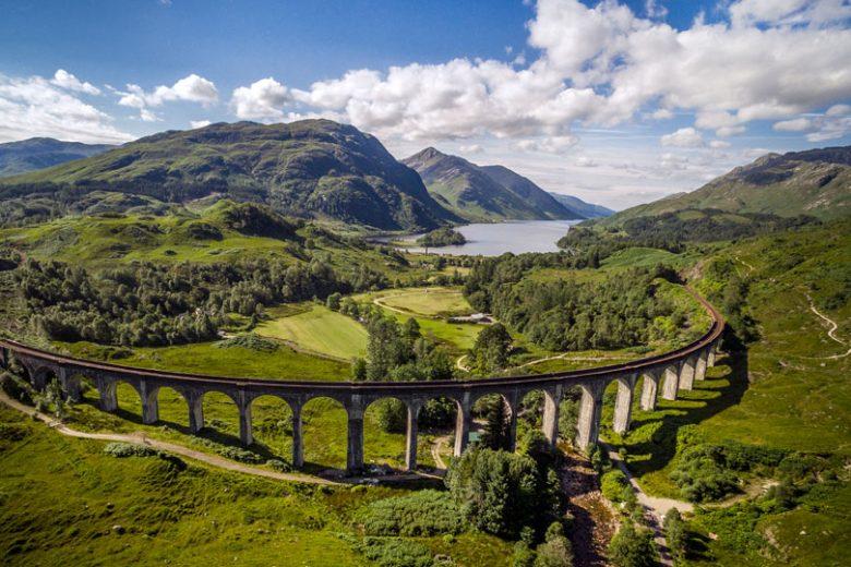 Glenfinnan Viaduct Schotland