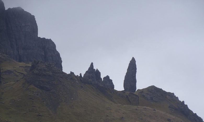Wandelen naar The Old Man of Storr op Skye