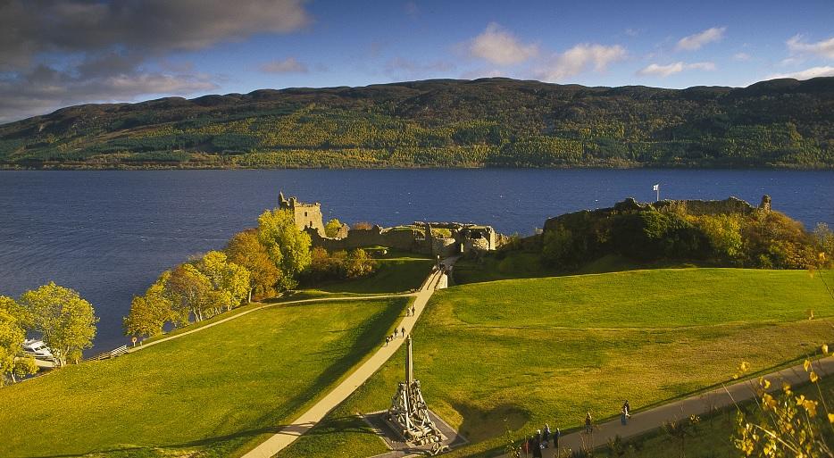 Kastelen in Schotland - Urquhart Castle