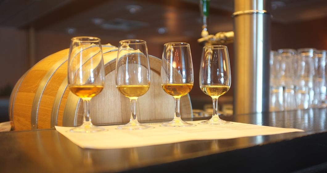 Whisky tasting aan boord bij DFDS Seaways