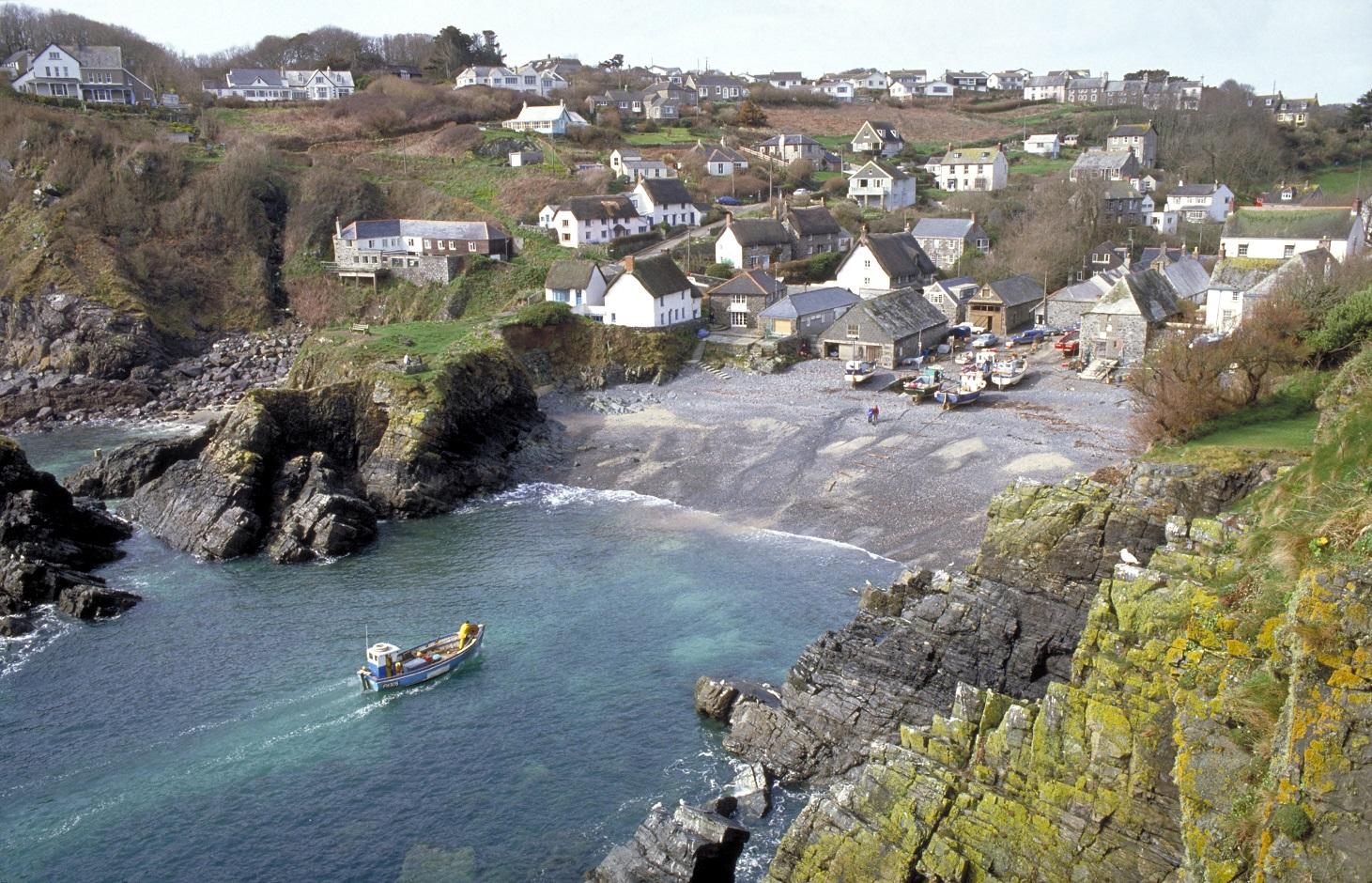 Cornwall heeft veel leuke badplaatsjes