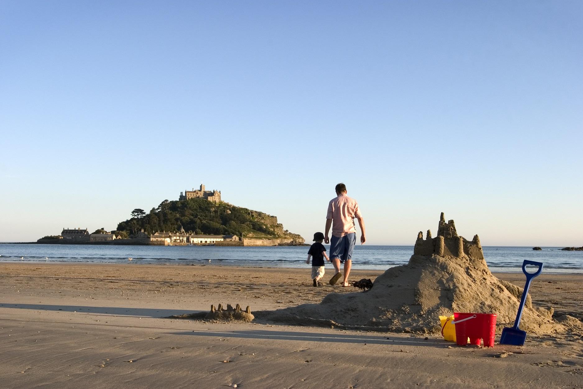 Strandvakantie in Cornwall Engeland
