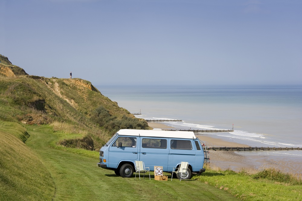 Met de camper of caravan door Engeland reizen - fantastisch!