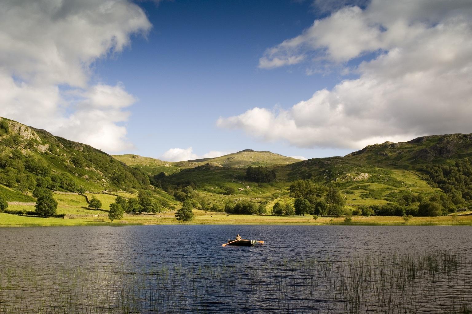 Het prachtige landschap van het Lake District