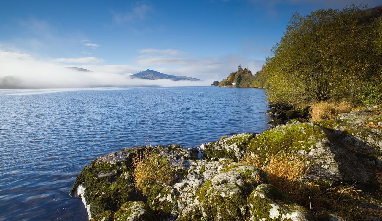 Bala Lake en The Aran Hills in Snowdonia National Park