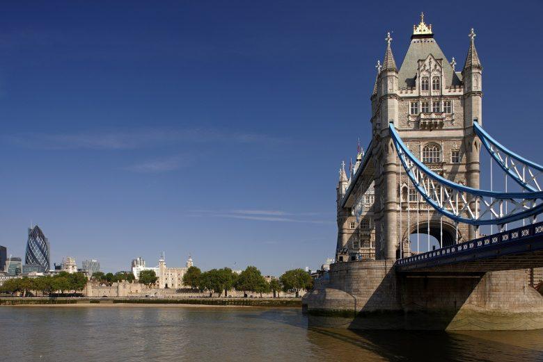 De bekendste brug in Engeland - Tower Bridge - Londen