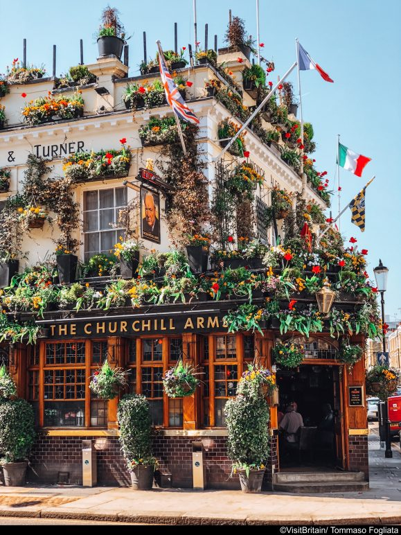 Churchill Arms, Kensington, London