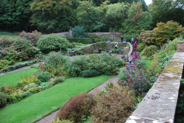 De tuin bij Wallington Hall