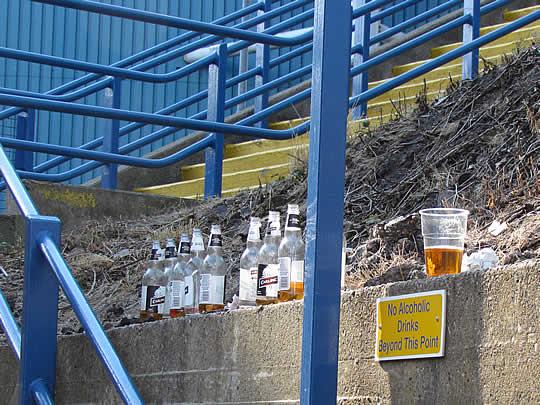 Alcoholvrij hoort er in Engelse stadions bij