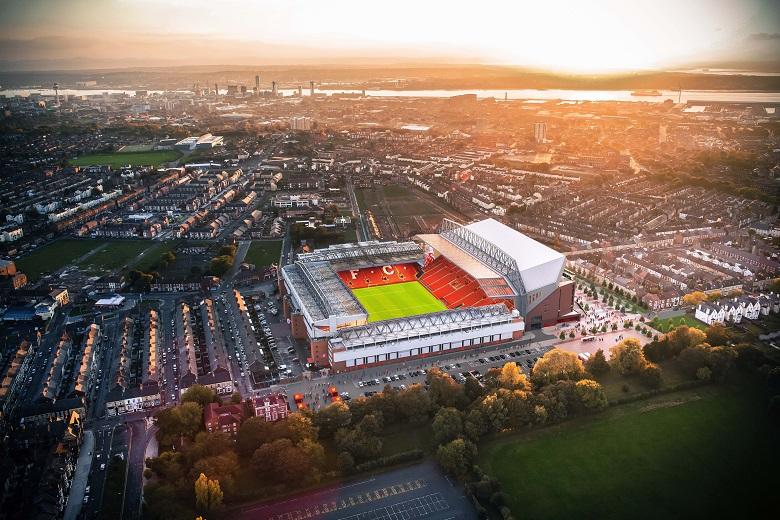 Anfield - het stadion van Liverpool