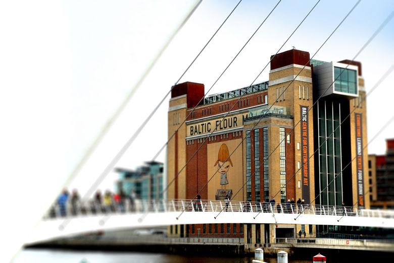 Het BALTIC Museum voor moderne kunst