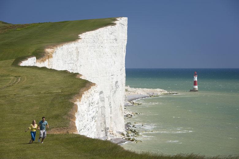 Beach Head - een van de hoogste kliffen van Engeland