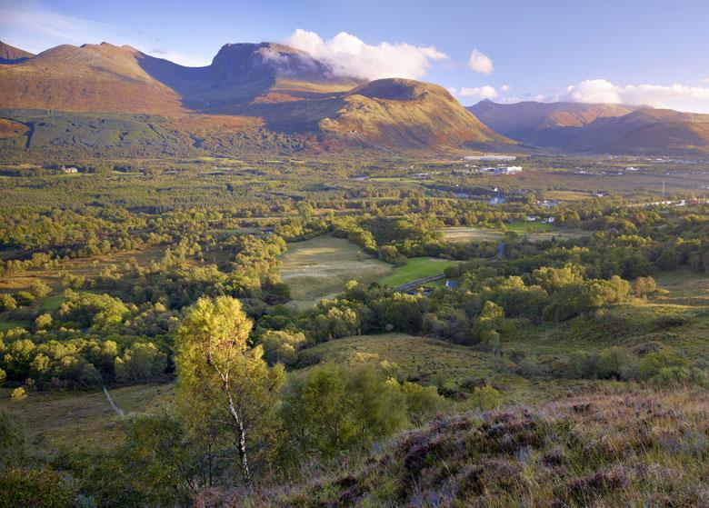 De Highlands met Ben Nevis op de achtergrond