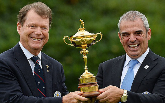 Captains Ryder Cup 2014