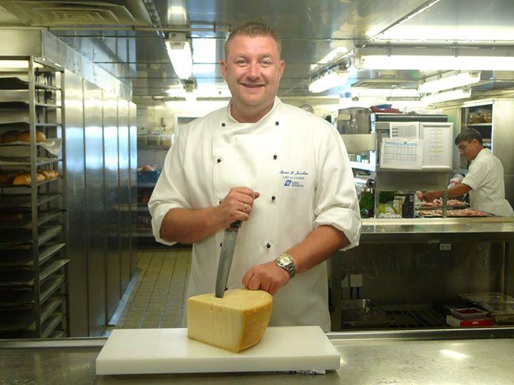 Brian Blixt Jacobsen, Chef du Cuisine aan boord van KING SEAWAYS