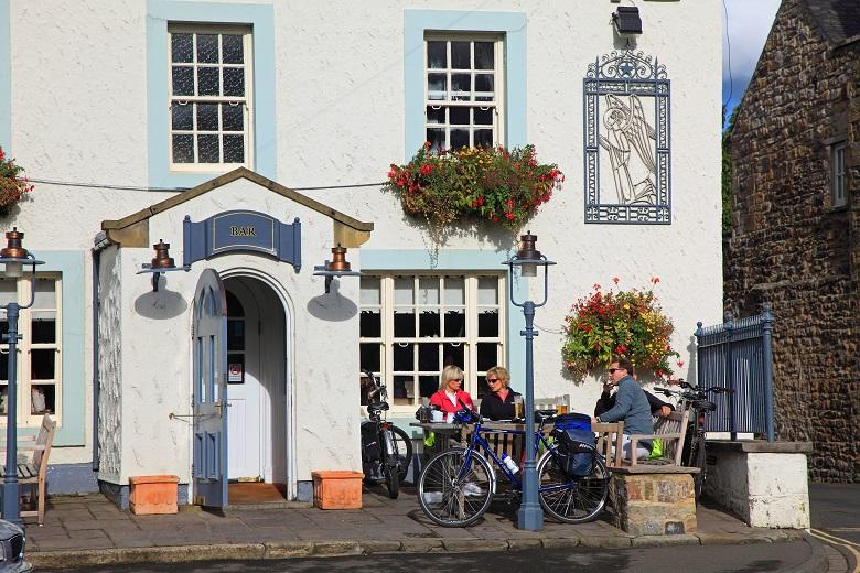 Corbridge, een pittoresk plaatsje