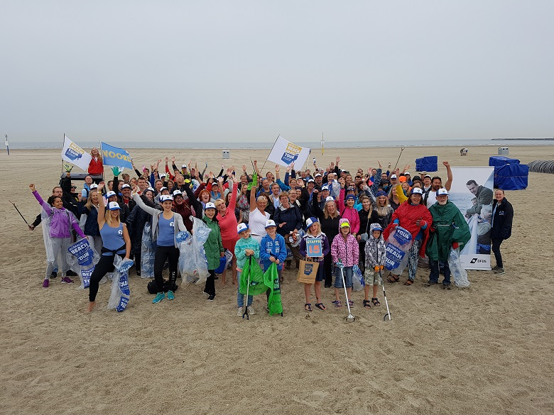 DFDS sponsort een deel van Beach Cleanup Tour