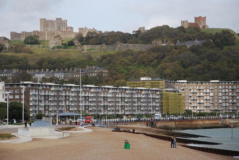 De strategische ligging van Dover Castle