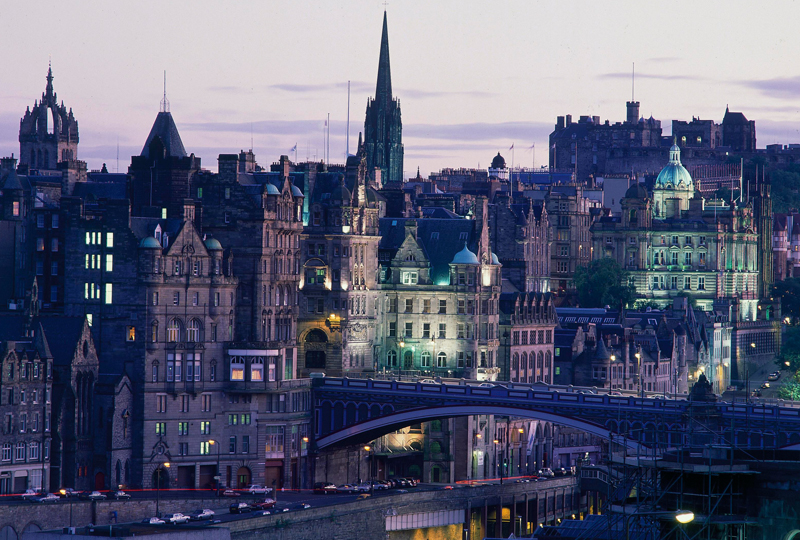 Levendig Edinburgh