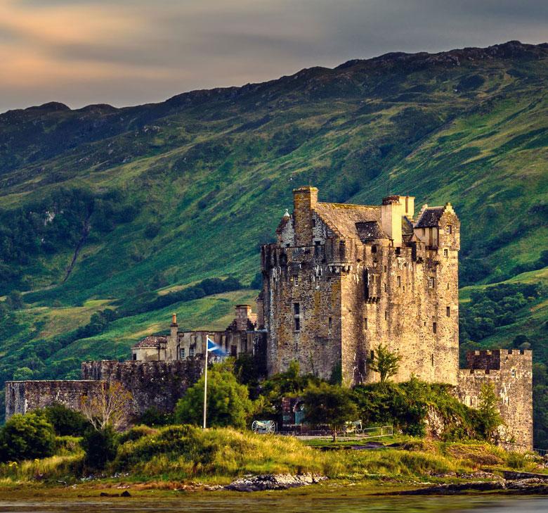 Kastelen in Schotland - Eilean Donan Castle