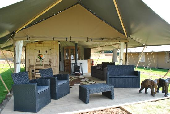 Glamping in Engeland