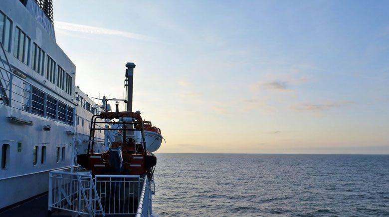 Aan boord van de cruiseferry