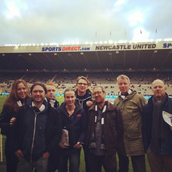 Bloggerstrip naar een voetbalreis in Newcastle