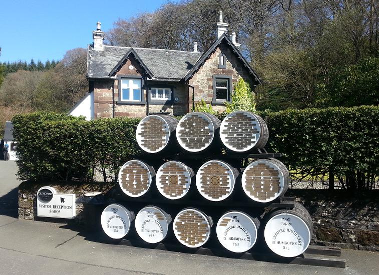 De Glengoyne distillery