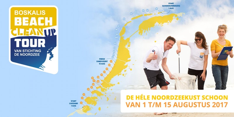 Doe je mee met de DFDS Beach Cleanup in het kader van de Beach Cleanup Tour?