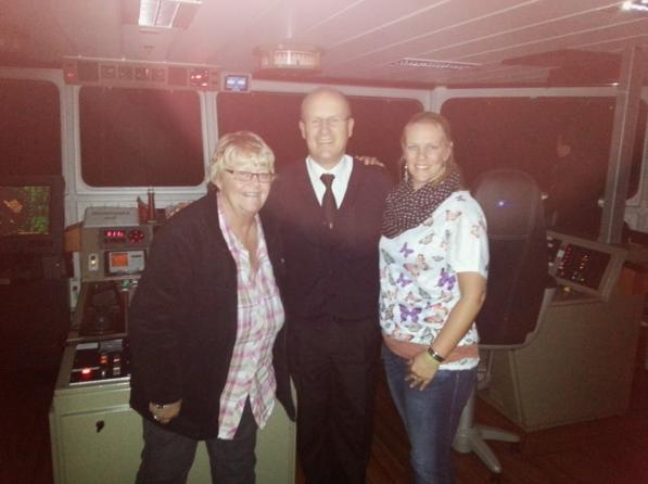 Ferry Good Memories - een bezoekje aan de kapitein