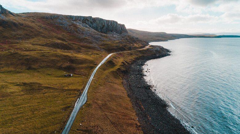 Isle of Skye kustroute