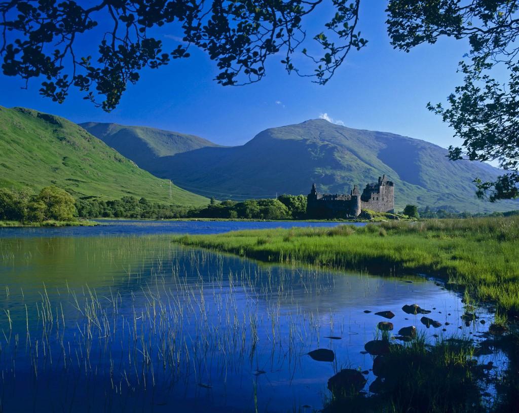 De natuur in Schotland is in de zomer prachtig
