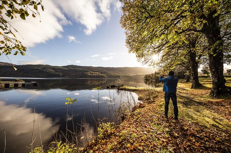 Wild spotten in Schotland