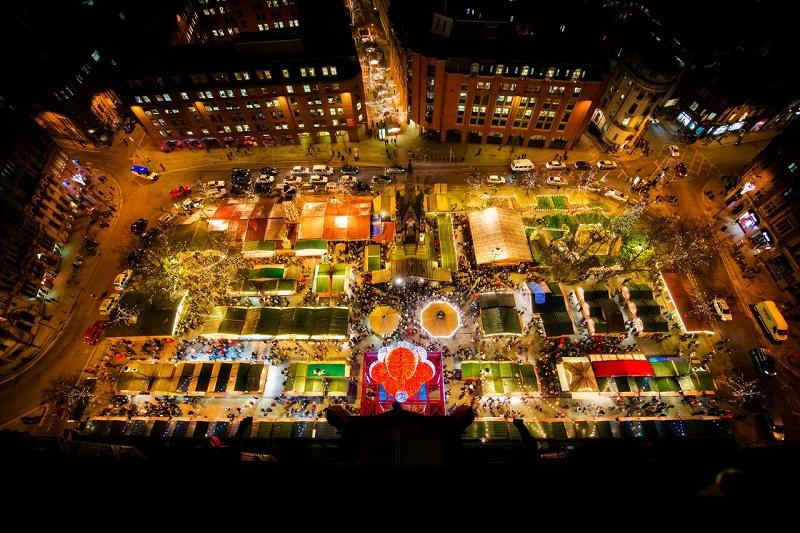Kerstmarkt Manchester