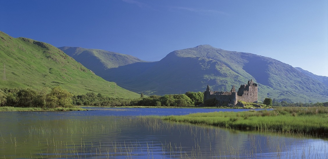 Kastelen in Schotland - Kilchurn Castle
